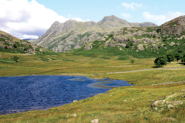 Blea Tarn and Langdales